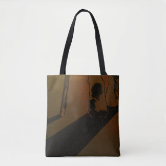 """Respect"" All-Over-Print Tote Bag"