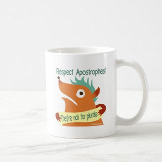 Respect Apostrophes -- mugs