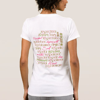 Respect Begins With Self a Universal Truth Tshirts