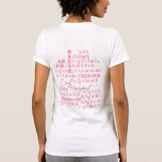 Respect Begins With Self Tshirt