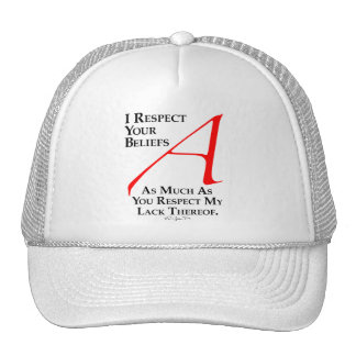 Respect Beliefs Trucker Hat