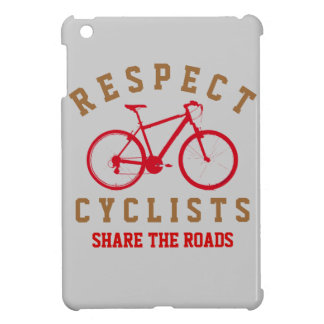 respect bicyclists sport-themed iPad mini cases