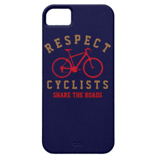 respect bicyclists sport-themed iPhone SE/5/5s case