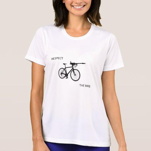 respect_bike camiseta