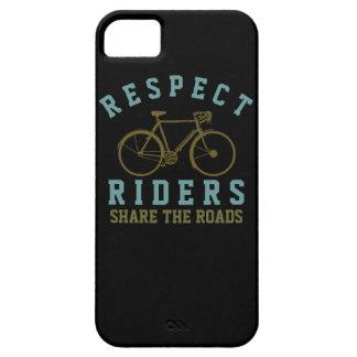 respect bike riders iPhone SE/5/5s case