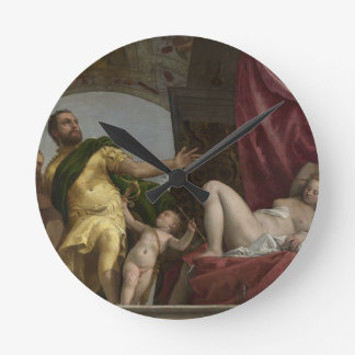 Respect by Paolo Veronese Round Clock