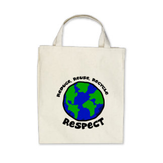 Respect Canvas Bags