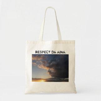 Respect Da Aina Re-usable Shopping Bag