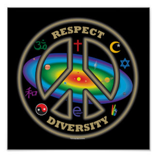 respect diversity blk posters