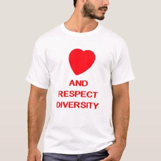 RESPECT DIVERSITY Men's Basic T-Shirt