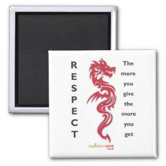 Respect Dragon Magnet