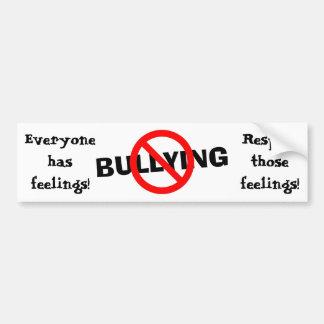 Respect Everyone's Feelings Bumper Sticker