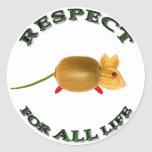 Respect for ALL life mouse - vegetarian