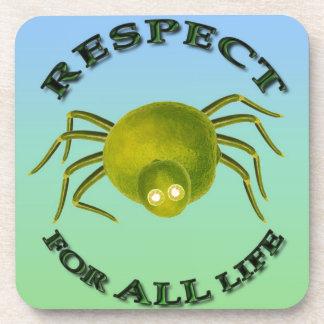 Respect for ALL life spider aquel spi - vegetarian Posavaso