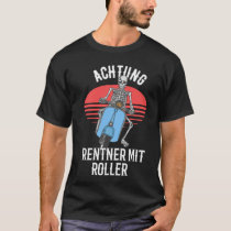 Respect for pensioners with scooters T-Shirt
