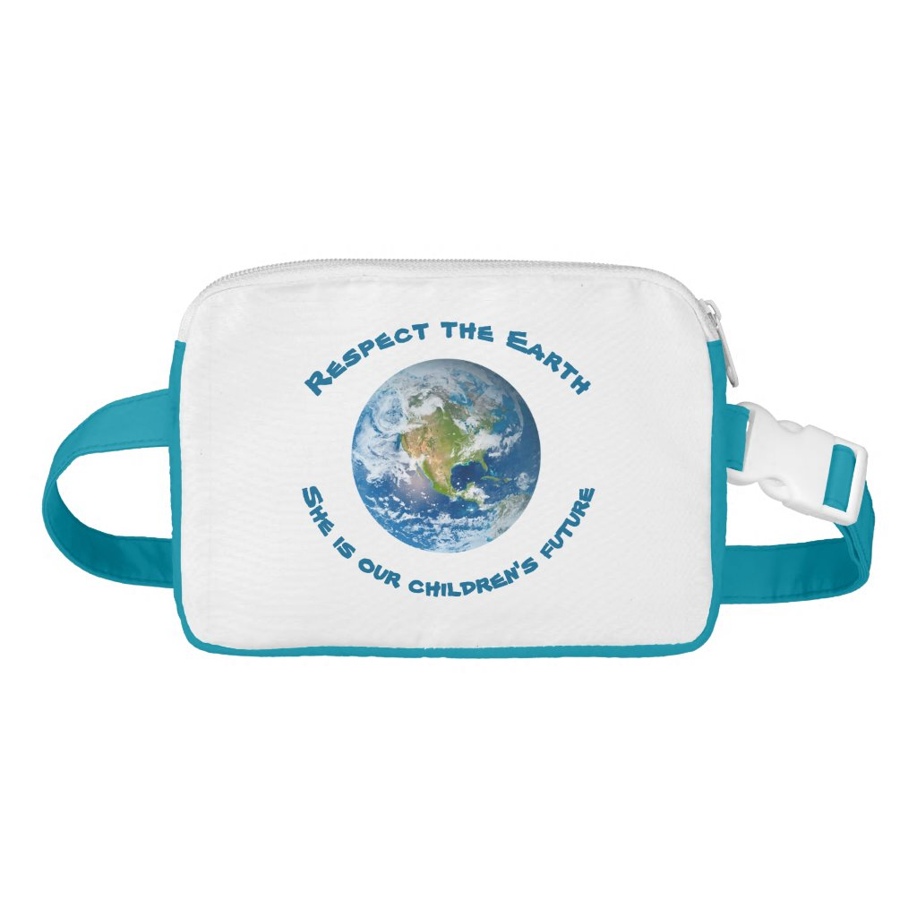 Respect Future of Planet Earth Fanny Pack