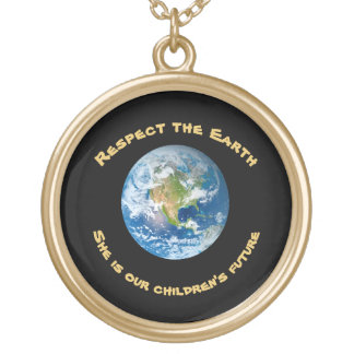 Respect Future of Planet Earth Necklace