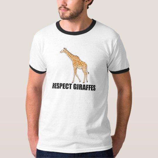 Respect Giraffes T-Shirt