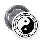 Respect Honor Integrity Karate 2 Inch Round Button
