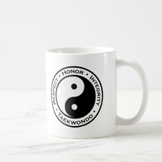 Respect Honor Integrity Taekwondo Coffee Mug