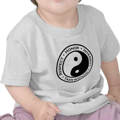 Respect Honor Integrity Taekwondo T Shirt