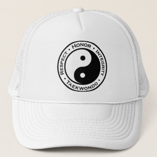 Respect Honor Integrity Taekwondo Trucker Hat