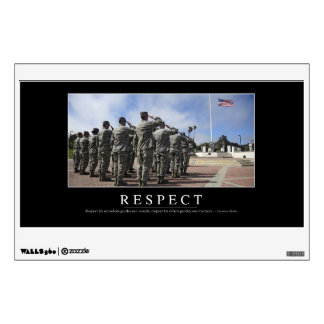 Respect: Inspirational Quote 2 Wall Decal