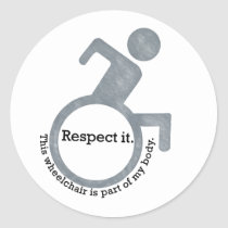 """Respect It"" Sticker"