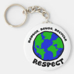 Respect Key Chains