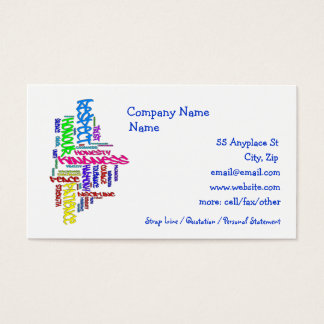 Respect, Kindness, Trust... Motivating Virtues Business Card