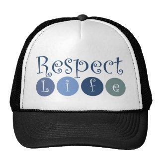 Respect Life Circle Trucker Hat