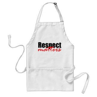 Respect Matters Aprons