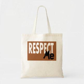Respect Me Tote Bag