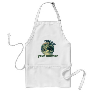 Respect Mother Earth Adult Apron