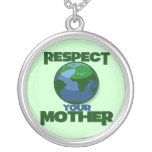 Respect Mother Eath Personalized Necklace