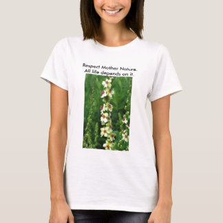 Respect Mother Nature/Save our Planet T-shirt