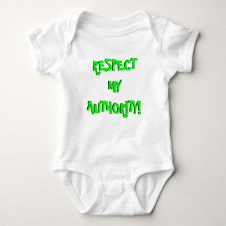 Respect My Authority! Infant Creeper (Onesy)