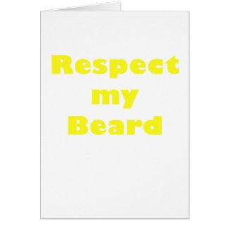 Respect my Beard Card