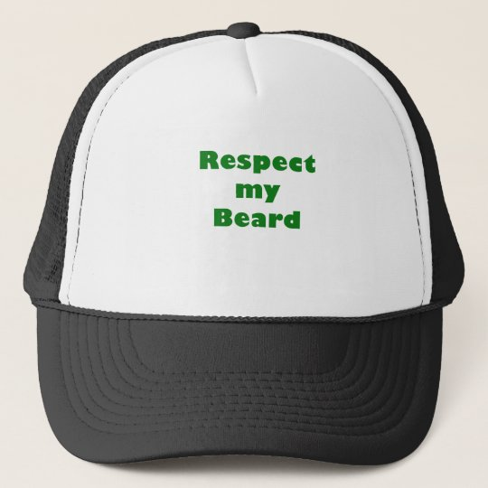Respect my Beard Trucker Hat
