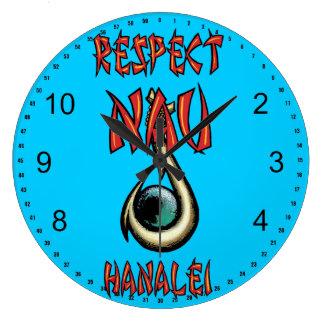 Respect Nau Hanalei Large Clock