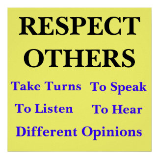 respecting others religions essay The essay question was   humans whot respect other cultures are setting themselves up  slavery would have never been abolished if respecting other.