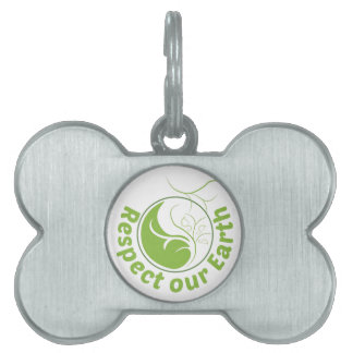 Respect Our Earth Pet ID Tag