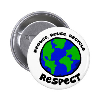Respect Pinback Button