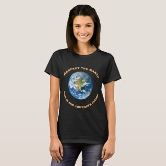 Respect Planet Earth Environmental Ecology T-Shirt