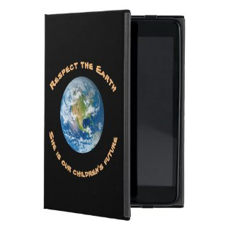 Respect Planet Earth Future iPad Mini Cases