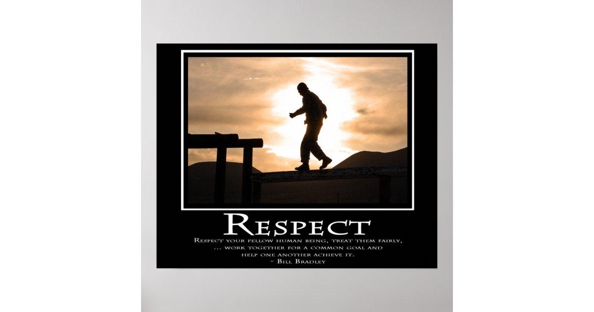 Respect Poster Zazzle