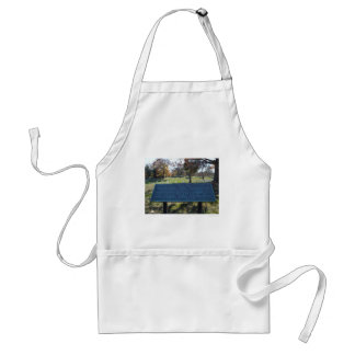Respect Sign Adult Apron