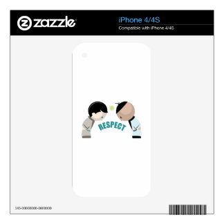 Respect Decal For iPhone 4S