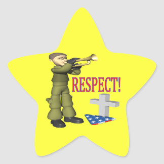Respect Star Stickers