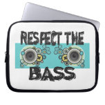 Respect The Bass Computer Sleeves
